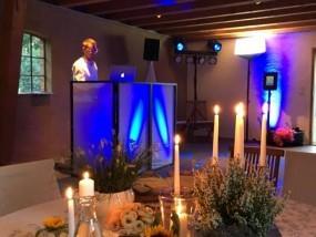 DJ Setup - Hochzeit - Das Cottage Maleksberg - Negernbötel