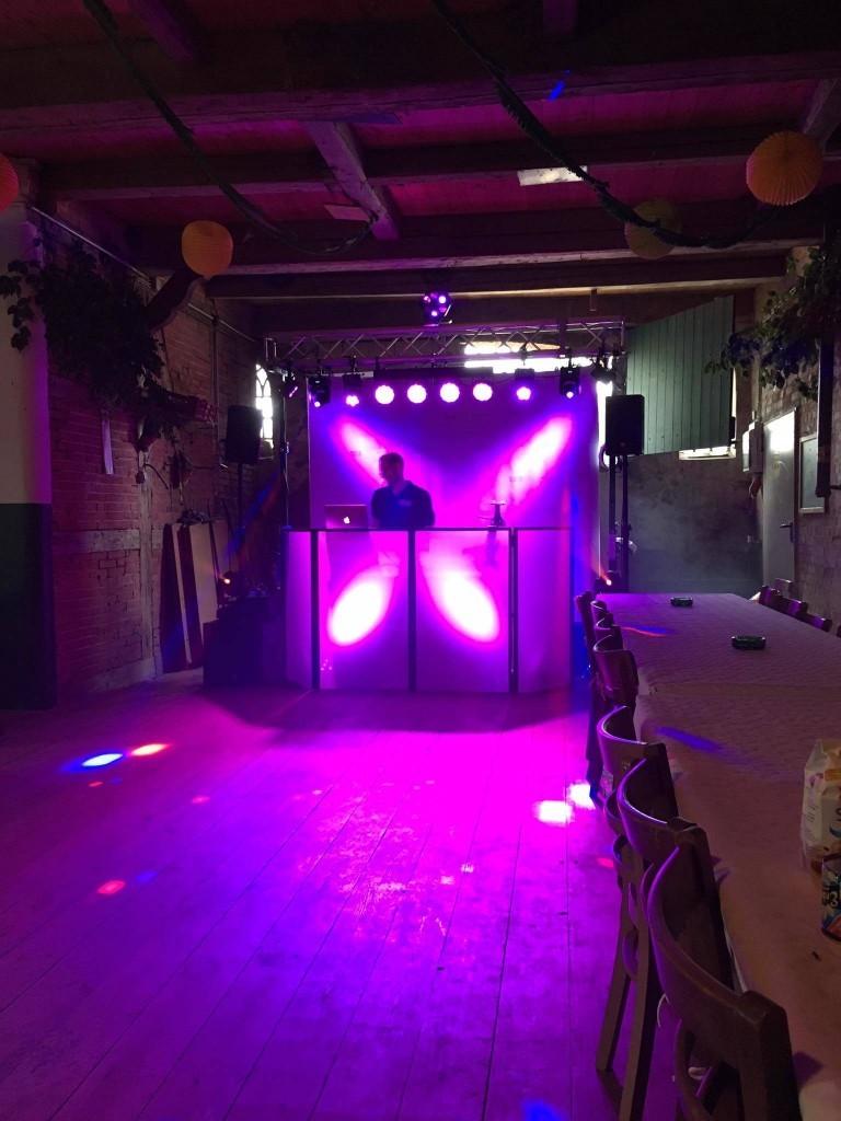 DJ Setup - Dorffest - Hahns Gasthof - Bark